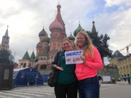 Brandie and Julia – Russia