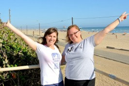Erica and Julie – California