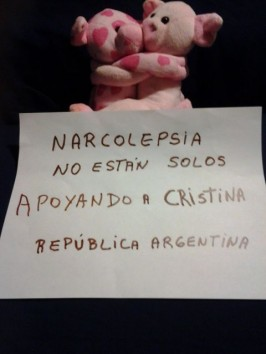 Friend Supporting Cristina – Argentina