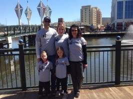 Gary, Nancy, Lorna, Hannah and Finn – Maryland & New Zealand