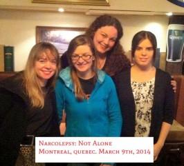 Montreal Meet Up Martha, Liz, Allison and Nikki – Canada