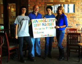 Narcolepsy Meet with Carrie-Ann, Todd, Catherine & Lisa – Oshawa, Ontario, Canada