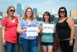 Narcolepsy and Hypersomnia Support Group of Kansas City, Laura, Melissa, Heather & Sadie – Missouri, Kansas
