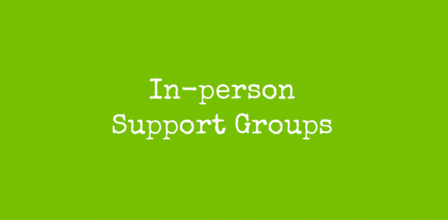 In-person Support Groups