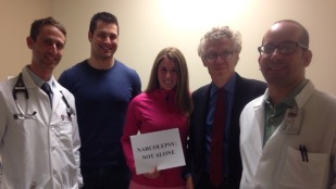 Dr. Schneider, Adam, Molly, Dr. Mignot, Dr. Fayazmanesh – Illinois