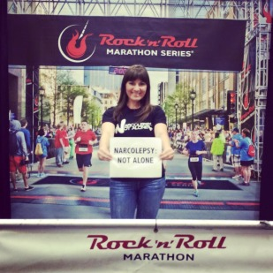 Julie – Rock N Roll Marathon CA