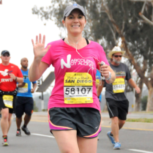 Julie – Marathon Run